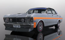 SCALEXTRIC 4037 FORD XW FALCON SILVER FOX (7/19) *