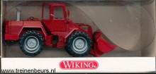 WIKING 651-02-24 Liebherr graafmachine wijnrood