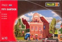 FALLER 190652 U Nederlands# huis-klokgevel VVV kantoor