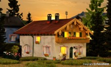 KIBRI 38823 H0 Haus Alpenblick