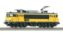 Roco 43675G NS E-lok Serie 1600 geel loknummer 1630 gebruikt goede staat