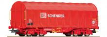 Roco 66449 Railion Zeildoek DB Schenker rood NIEUW uitloop