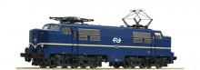 Roco 72681 NS E-lok Serie 1200 blauw bedrijfsnummer 1206 SOUND NIEUW uitloop