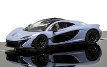 SCALEXTRIC 3877 MCLAREN P1 GREY