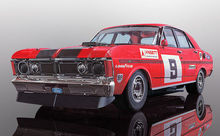 SCALEXTRIC 4028 FORD XY FALCON ATCC 1973 WINNER ALAN MOFFAT (4/19) *