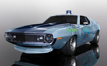 SCALEXTRIC 4058 AMC JAVELIN ALABAMA STATE TROOPER (10/19) *