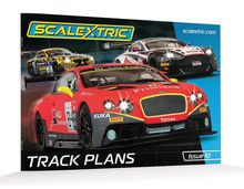 SCALEXTRIC 8334 SCALEXTRIC TRACK PLANS BOOK 10TH EDITION (1/19) *