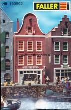 """FALLER 130992 U Nederlands* huis- klokgevel """"Koffiehuis"""" (OF -SHOP?)"""