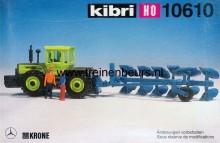 KIBRI 10610 U Tractor met eg