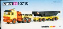 KIBRI 10710 U Mercedes vrachtwagen met dieplader