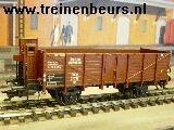Märklin 46032 Met remmershuis bruinKalkwagons