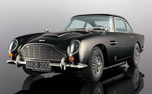 SCALEXTRIC 4029 ASTON MARTIN DB5 BLACK (1/19) *
