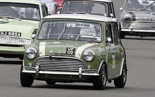 SCALEXTRIC 4059 AUSTIN MINI COOPER S GOODWOOD (7/19) *