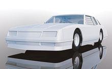 SCALEXTRIC 4072 CHEVROLET MONTE CARLO 1986 WHITE (1/19) *