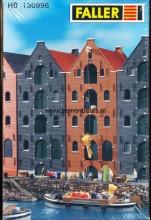 FALLER 130996 Nederlands* pakhuis- bruin NIEUW