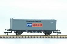 FL 8241K Container Containerwagon 40ft P&O NIEUW uitloop