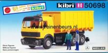 KIBRI 50698 U Mercedes kiepwagen
