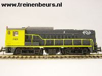 Roco 43461G NS Diesel 2343 geel/grijs gebruikt goede staat