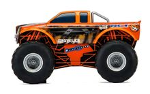 SCALEXTRIC 3779 TEAM MONSTER TRUCK GROWLER ORANGE