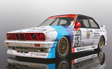 SCALEXTRIC 4040 BMW E30 M3 DTM 1989 CHAMPION (7/19) *