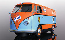 SCALEXTRIC 4060 VOLKWAGEN PANEL VAN GULF EDITION (7/19) *
