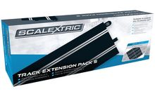 SCALEXTRIC 8554 TRACK EXTENSION PACK 5 8 X STANDARD STRAIGHTS