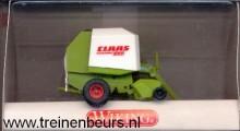 WIKING 384-01 Claas Rollant hooibaalpers groen/wit NIEUW