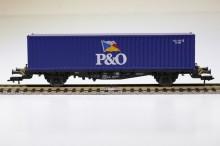 Fleischmann 5239 40'' TFG container blauw NIEUW