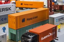 FALLER 180841 40' HI-CUBE CONTAINER HAPAG LLOYD