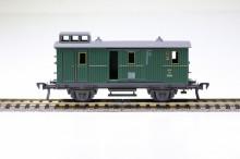 Fleischmann 5000 Bagage 2-assig groen NIEUW uitloop