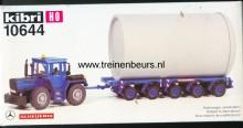 KIBRI 10644 U Tractor met aanhanger met groot vat