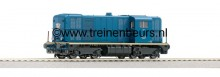 NS 2400 groenblauw nummer 2445