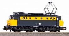 PIKO 51370 Serie 1100 geel/grijs met botsneus met geluid NIEUW uitloop