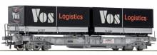 Roco 66617 SBB Draagwagen Vos Logistics NIEUW uitloop