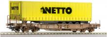 Roco 66976 DSB Draagwagon NETTO NIEUW uitloop