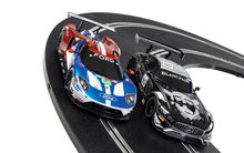 SCALEXTRIC 1403 ARC AIR WORLD GT MERCEDES AMG GT3 V FORD GT GTE (7/19) *