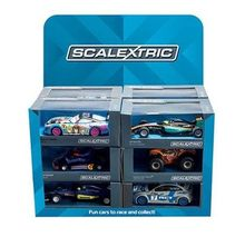 SCALEXTRIC 3984 12 ASSORTED SUPER RESISTANT CARS