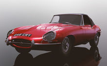 SCALEXTRIC 4032 JAGUAR E-TYPE RED 848CRY (1/19) *