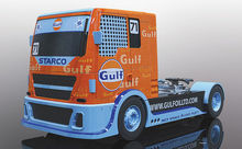 SCALEXTRIC 4089 GULF RACING TRUCK (1/19) *