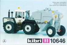 KIBRI 10646 U Tractor met aanhanger