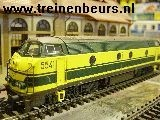 Ma 3466 u Lokomotieven~ Diesselllok groen/geel