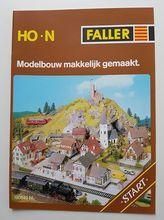 FALLER 190840 BROCH. MODELB. MAKK. GEMAAKT NL.