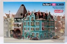 KIBRI 8369 Blauw hoekhuis Uitloop
