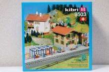 KIBRI 9503 Station met perron Uitloop