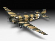 REVELL 03918 Vliegtuigen- Militair Junkers Ju52/3mg4e Transport 1:48