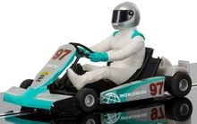 SCALEXTRIC 3836 TEAM SUPER KART SILVER