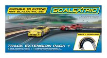 SCALEXTRIC 8510 TRACK EXTENSION PACK 1 RACING CURVE