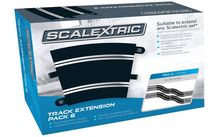 SCALEXTRIC 8555 TRACK EXTENSION PACK 6 8 X RADIUS 3 CURVE 22.5°