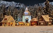 VO 42413 H0 Weihnachtsdorf bestehend a