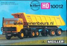 KIBRI 10012 U Mercedes kiepwagen